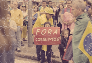 fora corruptos, manifestações, curitiba, 18 de março, verde e amarelo